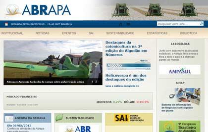 Abrapa - Site institucional