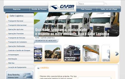 Gafor Logística - Portal Institucional