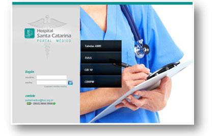 HSC - Portal Médico