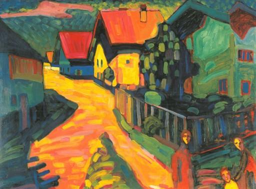 Rua com Mulheres - 1908