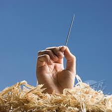 ?? como se encontrar uma agulha num palheiro.