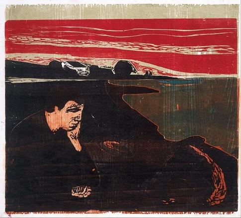 Edvard Munch - 1897 (Tarde melancólica)