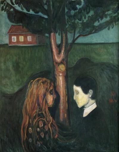 Olho no olho Edvard Munch - 1894