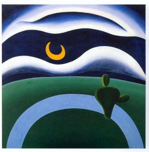 A Lua - 1928_Tarsila do Amaral
