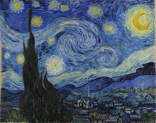Vincent Van Gogh - A Noite Estrelada