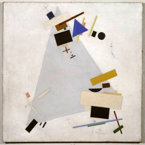 Kazimir Malevich Abstracionismo din??mico 1915 - 1916 Tate - Londres.