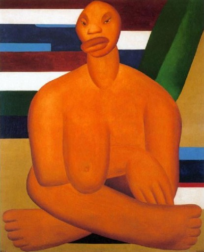 A negra_Tarsila do Amaral
