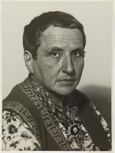 Gertrude Stein by Man Ray_w21mercurion