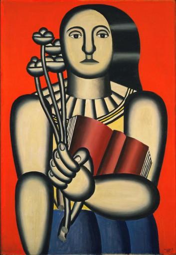 Mulher com Livro - 1923