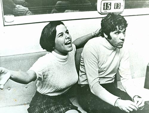 Elis Regina e Pierre Barouh - Paris - 1968