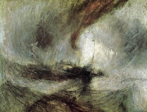 A tempestade - Turner - 1842