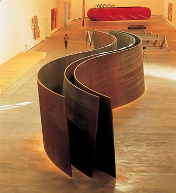 richard serra_serpientes