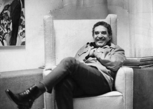 Gabriel Garcia Marquez na Cidade do  Mexico em 1976.