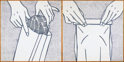 Roy Lichtenstein Bread in bag - 1961