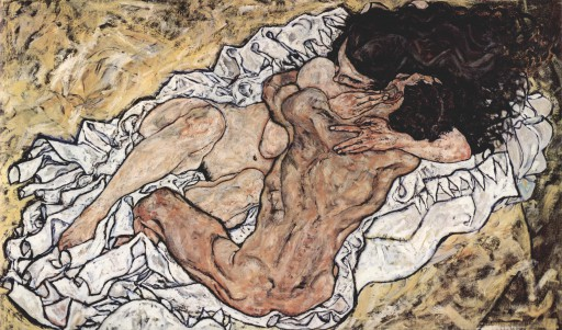 O abraço - 1917 Egon Schiele