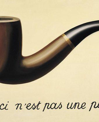 A traição das imagens: isto não é um cachimbo (René Magritte – 1928/1929)