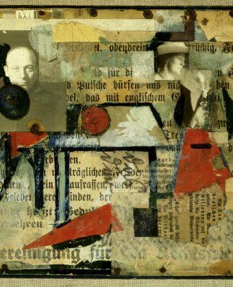 Kurt Schwitters, 1920 Assemblage, 17,6 x 21,1 cm